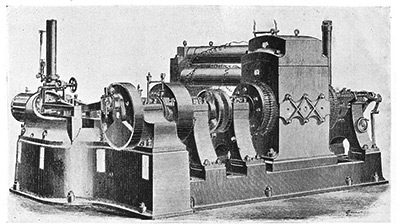 Edisson generators at the Pearl Street Station