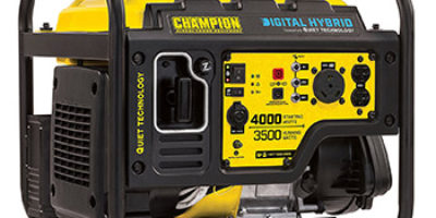 Champion Power Equipment 100302 3500W Digital Hybrid RV Ready Portable Generator