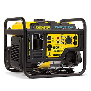 Champion Power Equipment 100302 3500W Digital Hybrid RV Ready Portable Generator