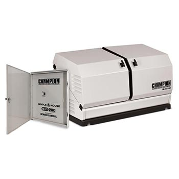 Champion 12.5kW whole-house generator