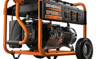 Generac 5939 GP5500 Gas Powered Portable Generator