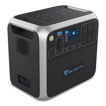 Bluetti AC200P Portable Solar Generator