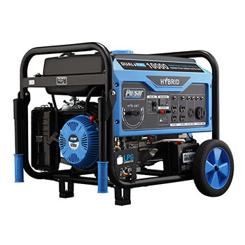 Pulsar Products PG10000B16 Dual Fuel Generator