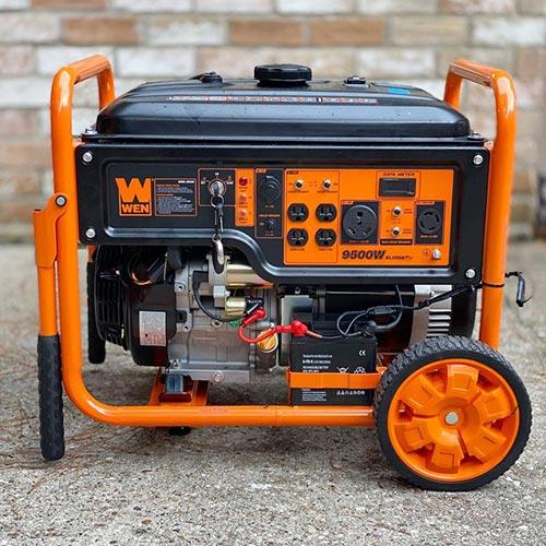 7500 watt power with key switch