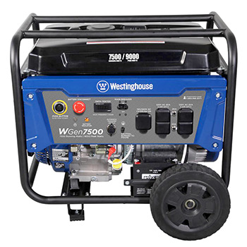 Westinghouse WGen7500 Portable Generator Review - Generator Mag on