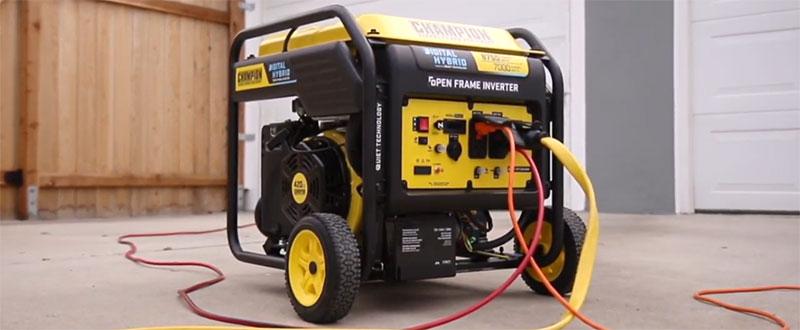 Champion Power Equipment 8750-Watt Digital Hybrid Review