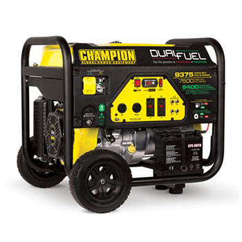 Champion Power Equipment 7500-Watt Dual Fuel Generator