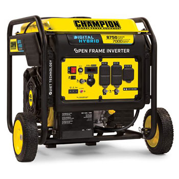 Champion Power Equipment 8750-Watt DH Features
