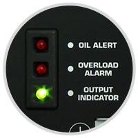 Honda EU2200i Control Panel